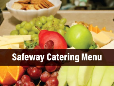 Safeway Catering Menu  1