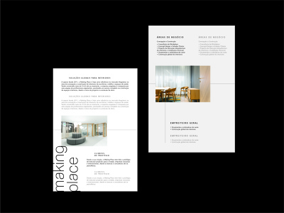 Making Place graphic design editorial logo identity brochure