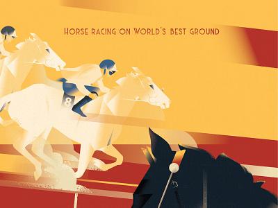 Borhos Horse Racing - Art Deco adobe illustrator illustration art concept racing posterdesign popart sports animal rider horseriding horseracing horses illustration creative creativeart branding posterillustration art deco artdeco