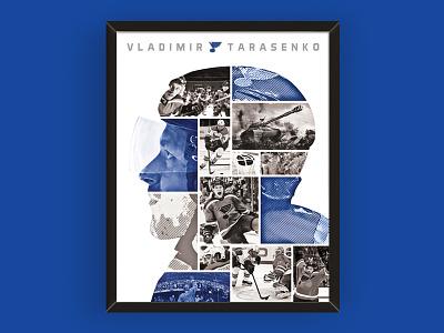 Tarasenko Poster tarasenko frame poster design art hockey st louis blues