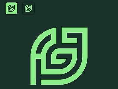 A + G + J Logo Concept logomaster logomasterid logo