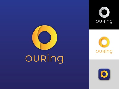 ouring o letter logo o letter circle logo circles rings ring branding design logodesign logotype logos logo branding brand