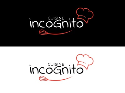 cuisine incognito logos logotype logodesign brand cookery cooker cook restaurant logo cooking logo logo design logo food and drink food restaurant cooking