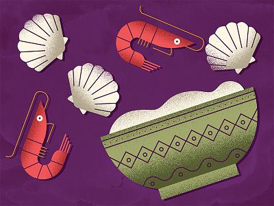 Steamers  oysters clams shellfish cajun bowl shrimp étouffée