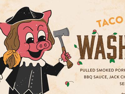 Washingtonian austin tree cherry cherry tree wood washington pig pork taco