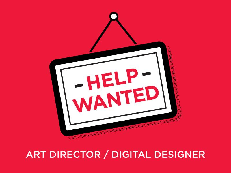 Help Wanted art director tilted chair creative austin texas help wanted design web design job now hiring