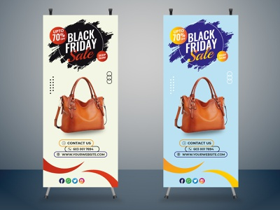 Roll Up Business branding design branding design illustration photoshop roll up banner design rollup roll up banner
