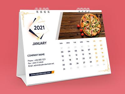 Desk Calendar Design branding design branding design illustration photoshop calendar calendar design desk calendar 2021 desk desk calendar