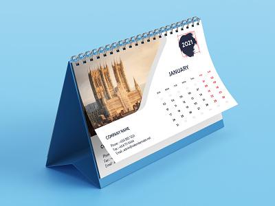 Desk Calendar Design design branding design illustration photoshop calendar design calendar desk calendar 2021 desk calendar