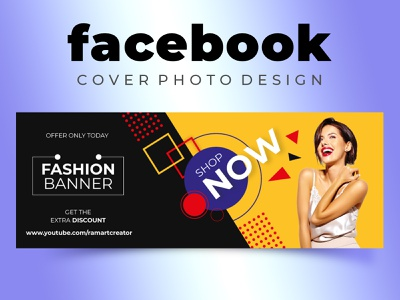Facebook Cover Photo Design branding design branding design illustration photoshop facebook design facebook post facebook banner facebook ad facebook cover