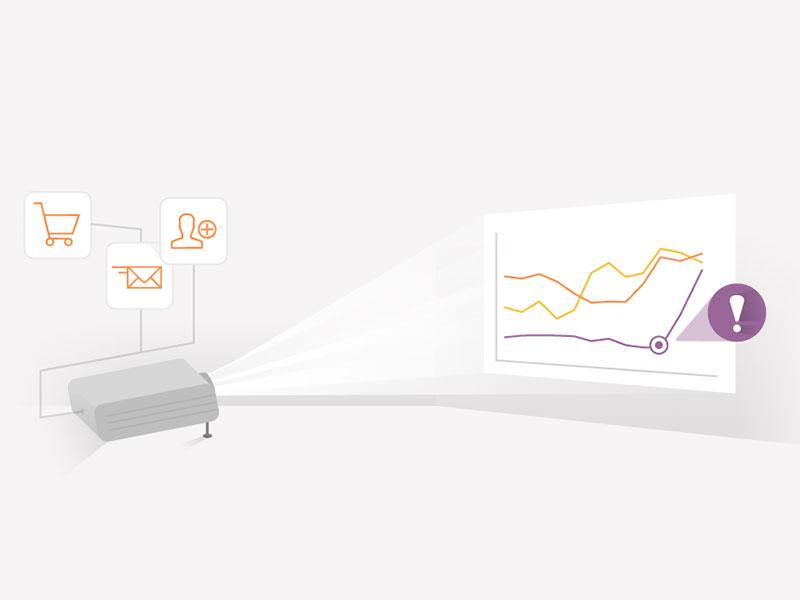 Data visualization illustration data charts business ecommerce data visualization