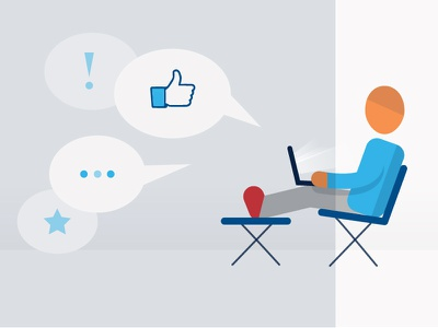 Reward without the work internet goals social shares likes psychology lounging