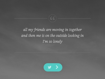 Lonely Project revamp lonely mobile quotes