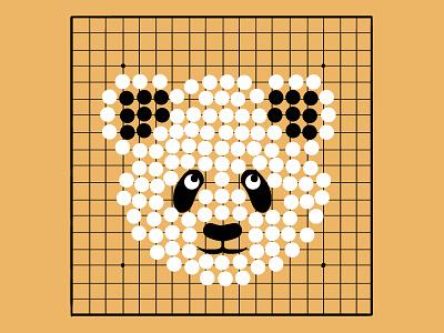 Panda Go Game illustrators graphic designer game art imagination ideas digitalart digital illustration art illustrations illustraion graphic design panda go game animals wildlife illustration wildlife vector illustration digital illustration illustrator