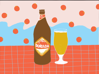 Dorada Beer reminder spain spain beer beer motion graphic motiongraphics motion graphics motion design motion illustrations digital digitalart digital art design illustraion designer illustration art digital illustration illustration illustrator