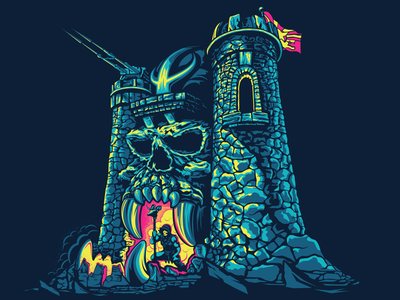 Castle Grayskull mastersoftheuniverse skeletor he-man motu