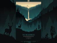 Wilderness Poster Illustration