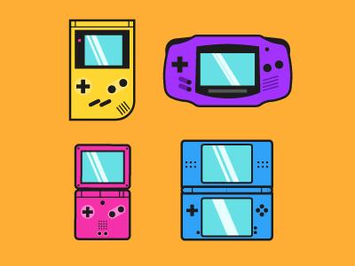 The Game Boy nintendo color videogame games game boy gameboy