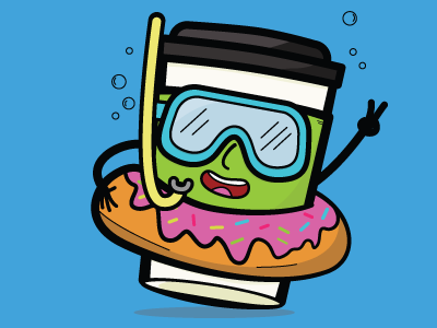 Coffee Pool Party