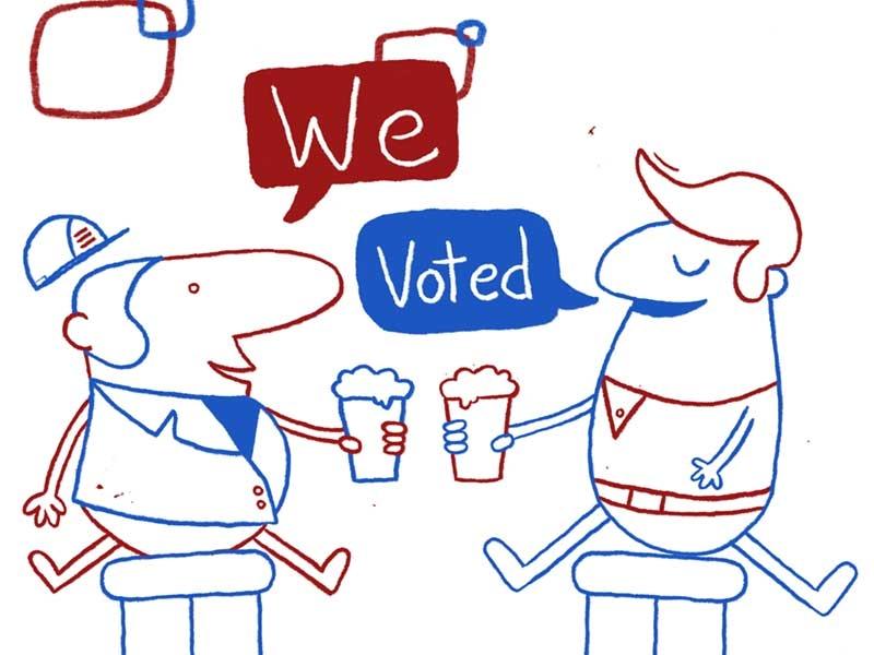 We Voted election go vote govote voted vote