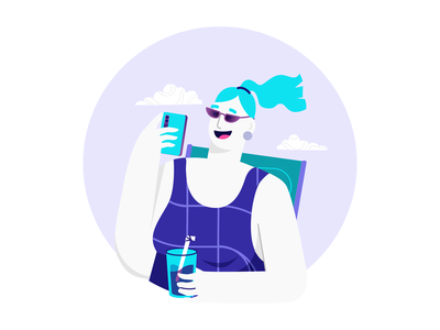 Your bills in one place II ui credit card payment creditcard bills illustration art vector chilling chillin illustration