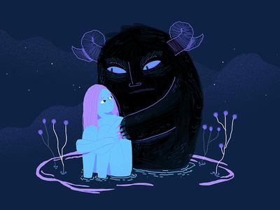 Animals from darkness