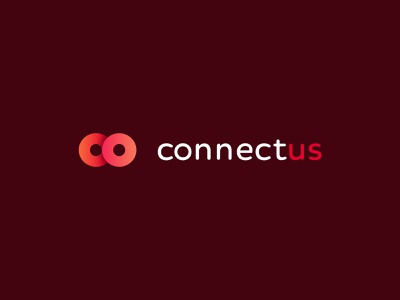 Connectus Logo symbol connectus connection logo brand and identity brand