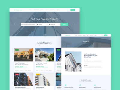 Osahan Land sales real estate property multi page html5 css3 clean business bootstrap4