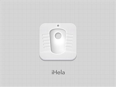 Alaturka Toilet wc toilet iphone icon ihela