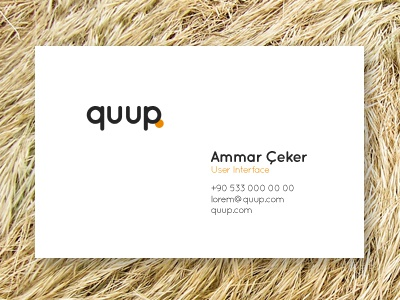 Card business card business card cards quup