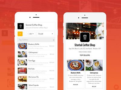 Yummmy Pro startup ux ui restaurant menu food mobile yummmy