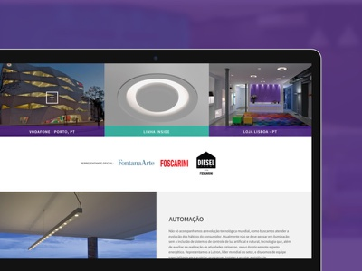 Light Design + Exporlux ux front-end responsive design ui website