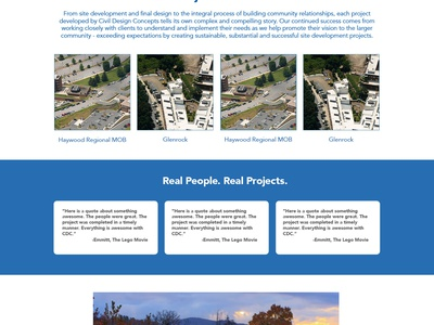 Civil Design Concepts ui design blue gray skyline civil design engineering