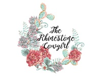 The Rhinestone Cowgirl - Logo Design