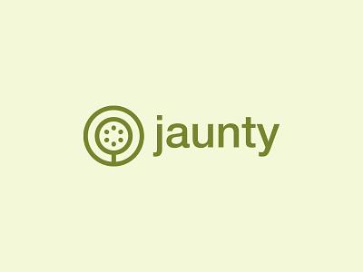 jaunty logo and bottle design typography jaunty identity fresh juice logo bottle design package juice fruit iconic minimal minimalist icon symbol mark logotype brand identity branding logo design logo