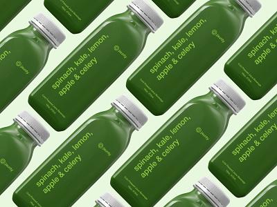 jaunty bottle design identity icon minimalist brand identity logo typography type beverage drink fruits fresh pressed juice juice package design packaging package branding bottle design bottle