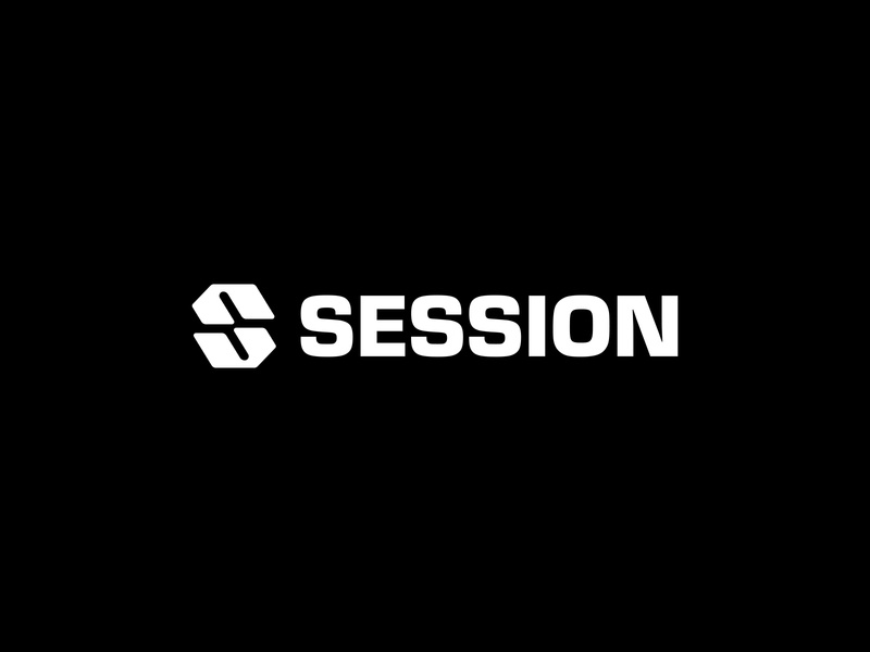 Session Full Brand Identity Design icon minimalist app design app exercise workout s logo s typography type logotype lettermark monogram branding identity brand design logo