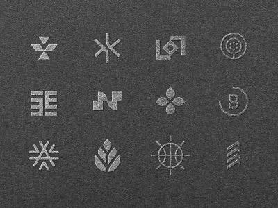 My Favorites Of the Year lettermark monogram minimalist 2020 collection logos icon mark branding identity brand design logo