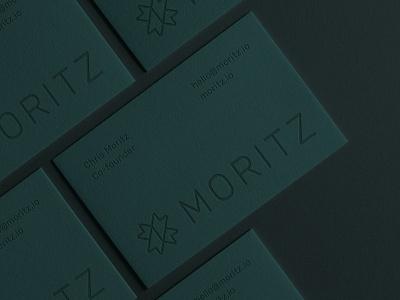 Moritz Logo and Business Card Design clothing fashion luxurious minimalist business card typography type lettermark initial mz z m abstract monogram mark branding identity brand design logo