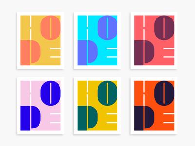 HOPE Poster Design hope graphic design illustration print ui lettering typography type logo design poster