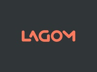 Lagom Final Logotype