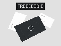 Freeeebie - Business Card Mockup Bundle