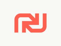 N + Arrow Logo Concept