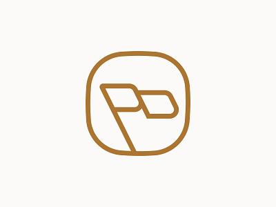 Primeiro Distrito Monogram + Flag logo design brand identity branding icon illustration flag pd p d monogram lettermark type typography minimalist app badge logotype