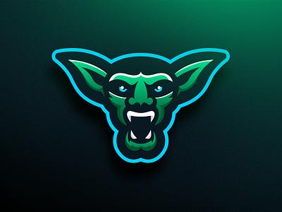 Goblin - Mascot Logo Design football hockey green goblin green spooky halloween goblins esports mascot logo sports goblin