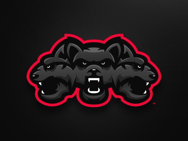 Cerberus - Mascot Logo Design by Mason Dickson on Dribbble