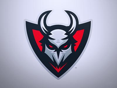 Mayhem - Demonic Mascot Logo evil red gaming sports esports logo mascot beast monster devil demon mayhem