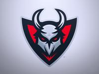 Mayhem - Demonic Mascot Logo