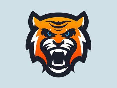 tiger mascot logo design by mason dickson dribbble rh dribbble com tiger mascot clipart free Tiger School Mascots Clip Art