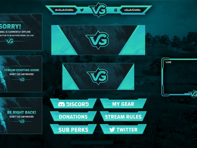 VG Logo Design - vGuArDiANx teal design logo letter sports esports gaming vg vguardianx